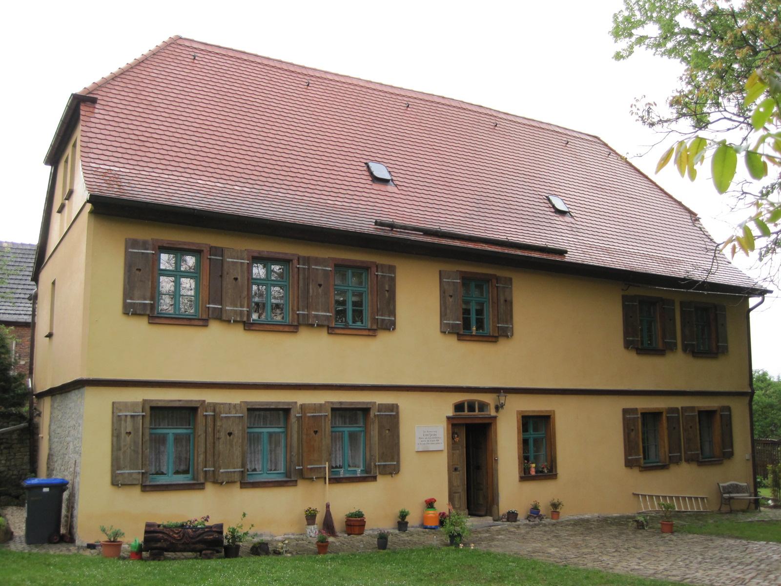 Münchengosserstedt: ehemaliges Pfarrhaus (geplante Erweiterung der Museumsräume (Friedrich-Förster-Ausstellung und Heimatmuseum))