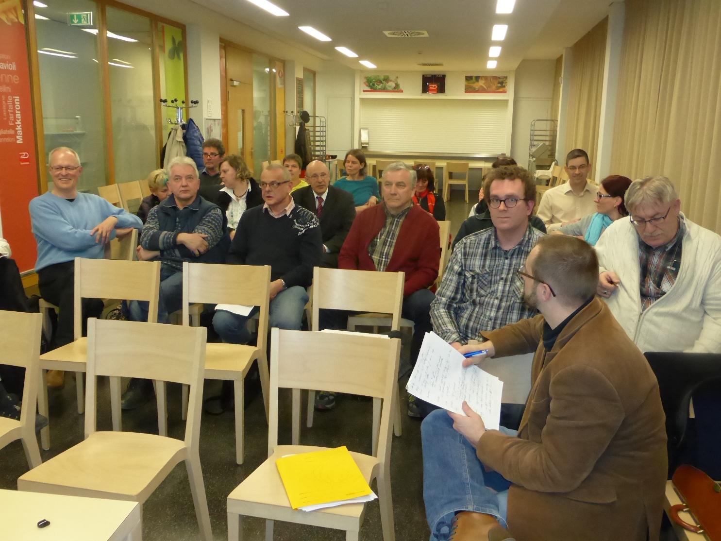 LEADER-Workshop mit den Ortsteilbürgermeistern der ländlichen Ortsteile der Stadt Weimar