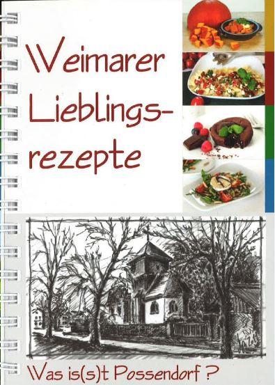Possendorfer Lieblingsrezepte, RAG Weimarer Land - Mittelthüringen e.V.