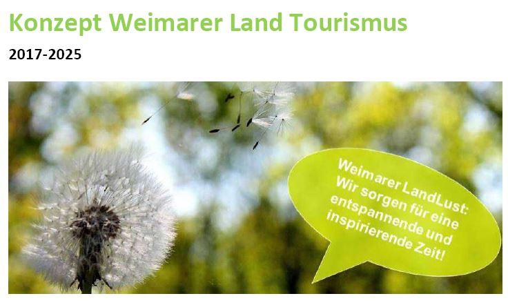 Tourismuskonzept für das Weimarer Land (Weimarer Land Tourismus e.V.)