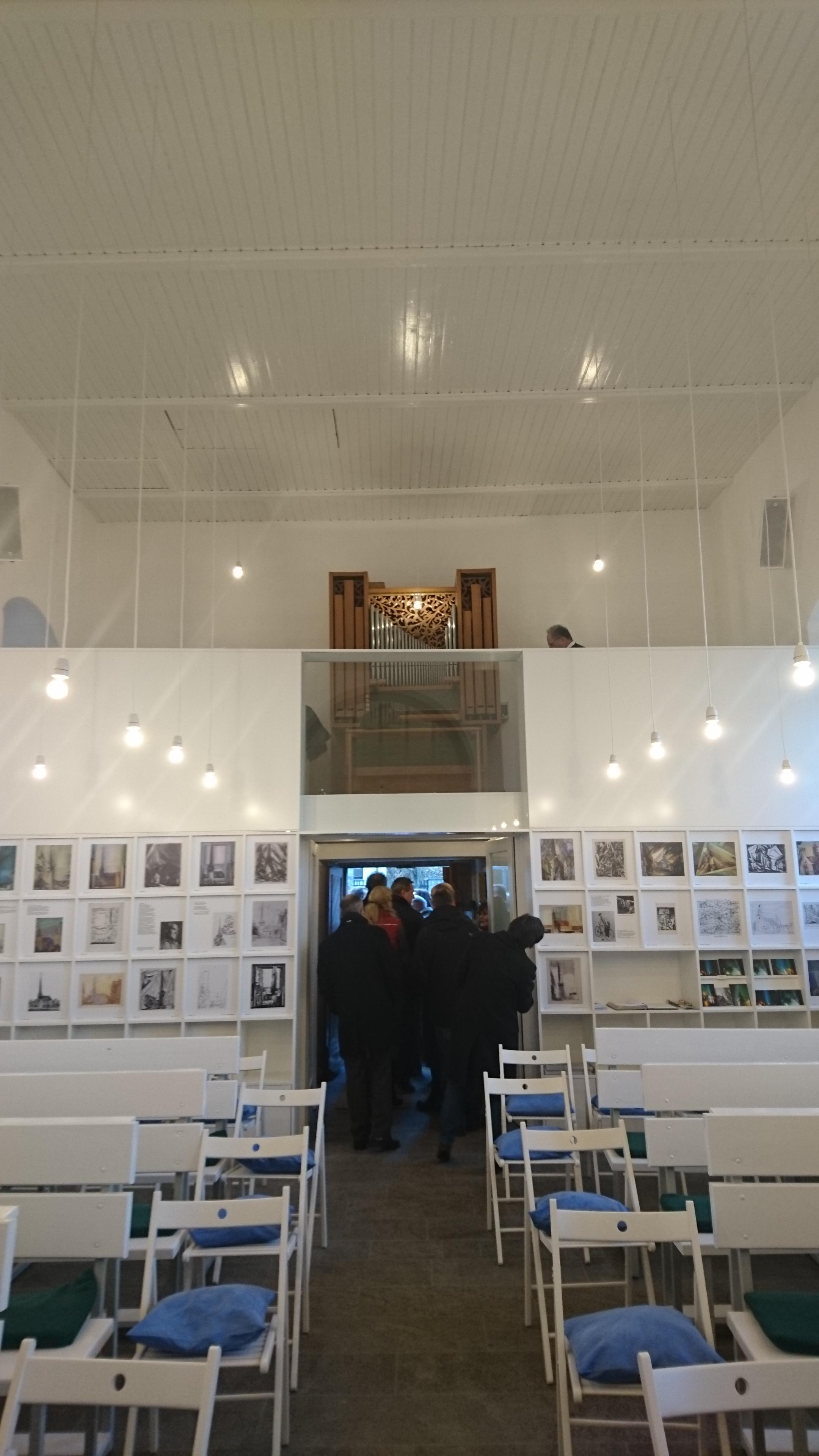 Innenraum der Feiningerkirche Gelmeroda - Ansicht 1, RAG Weimarer Land - Mittelthüringen e.V.