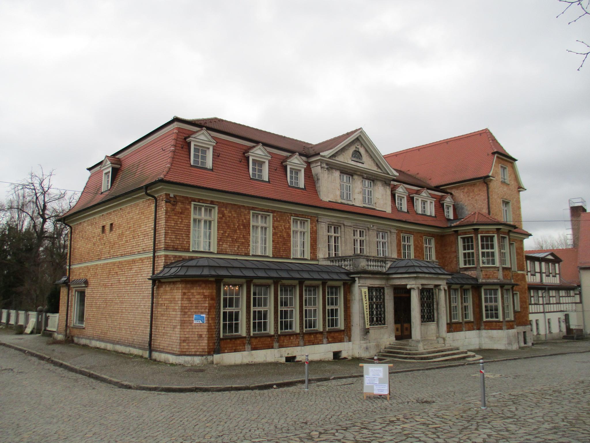 Instandsetzung der Holzschindelfassade (RAG Weimarer Land - Mittelthüringen e.V.)