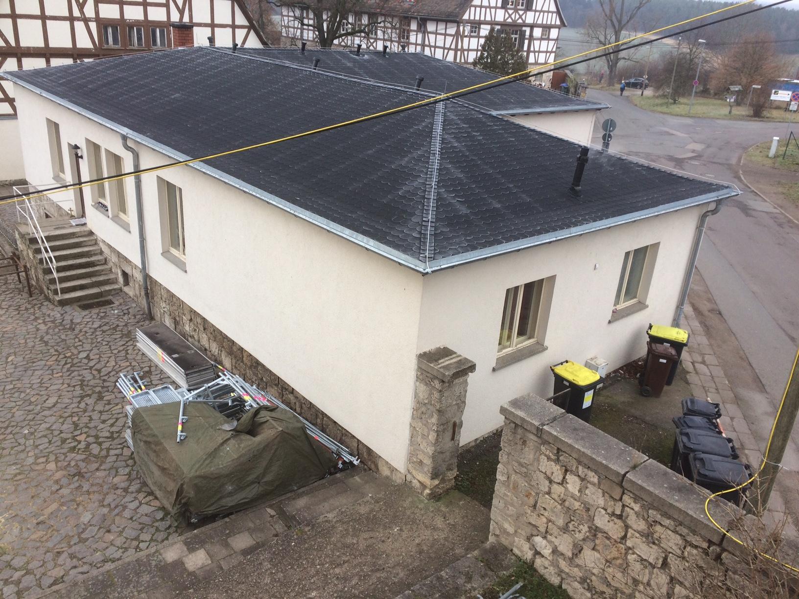 Sanierung Flachdachtragwerk und Bitumendeckung (Diakonie Landgut Holzdorf gGmbH)