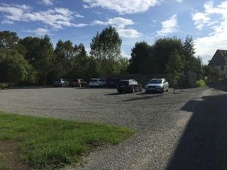 Parkplatzerweiterung (KulturGut Ulrichshalben, Familie Roth)