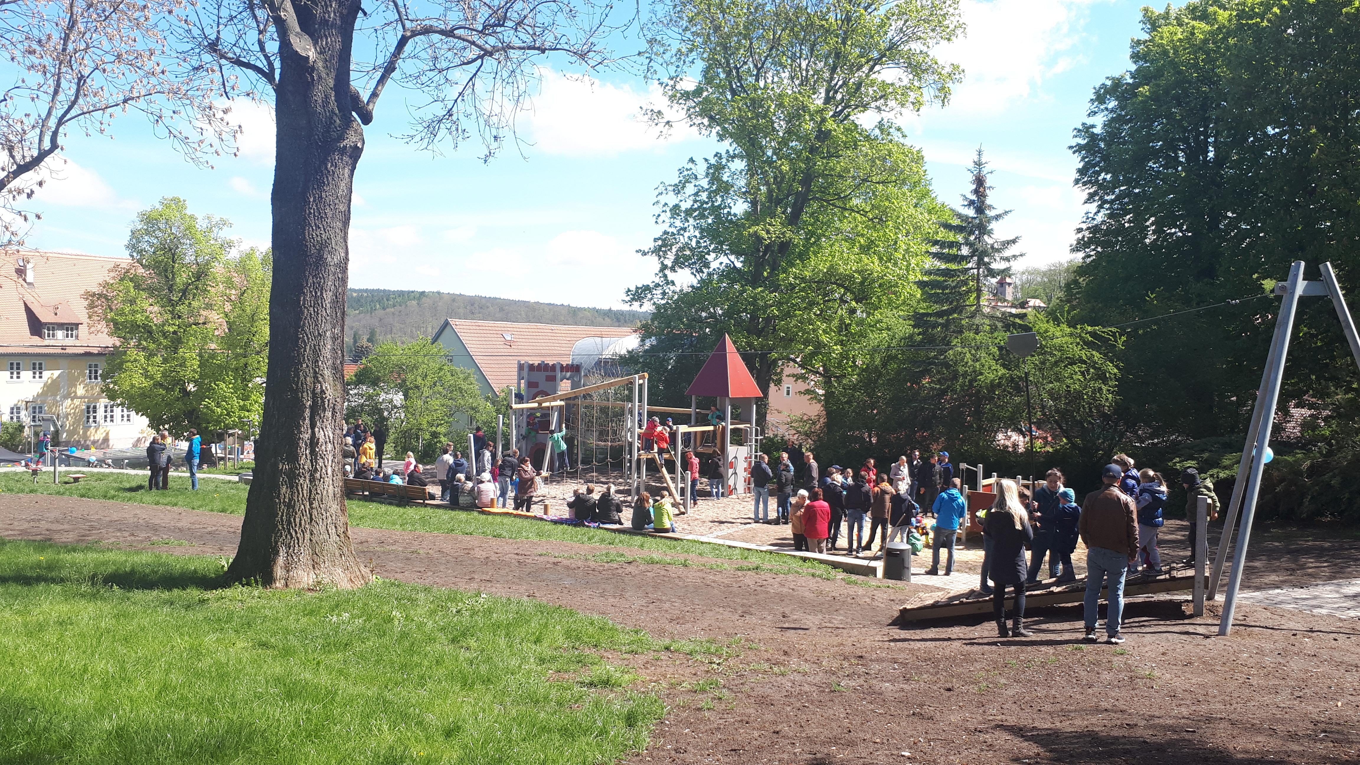Mehrgenerationenpark in Kranichfeld (RAG Weimarer Land - Mittelthüringen e.V.)