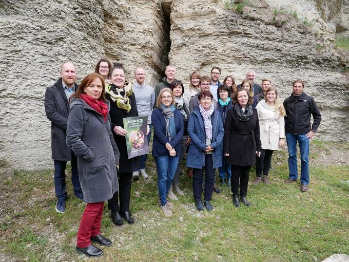 LEADER-Netzwerktreffen auf Schloss Tonndorf