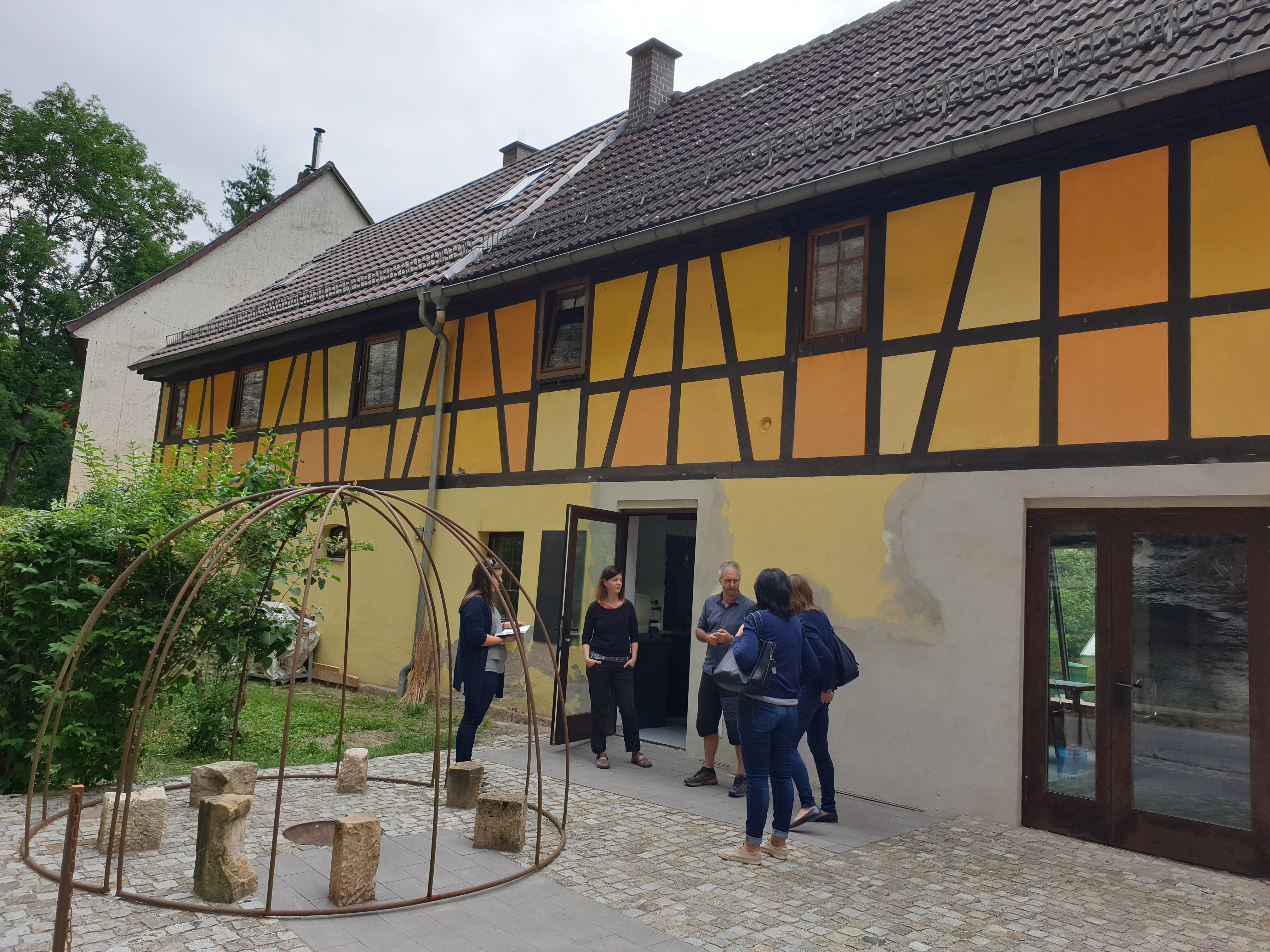 Rundfahrt Fachbeirat: Ateliercafé flow, RAG Weimarer Land - Mittelthüringen e.V.