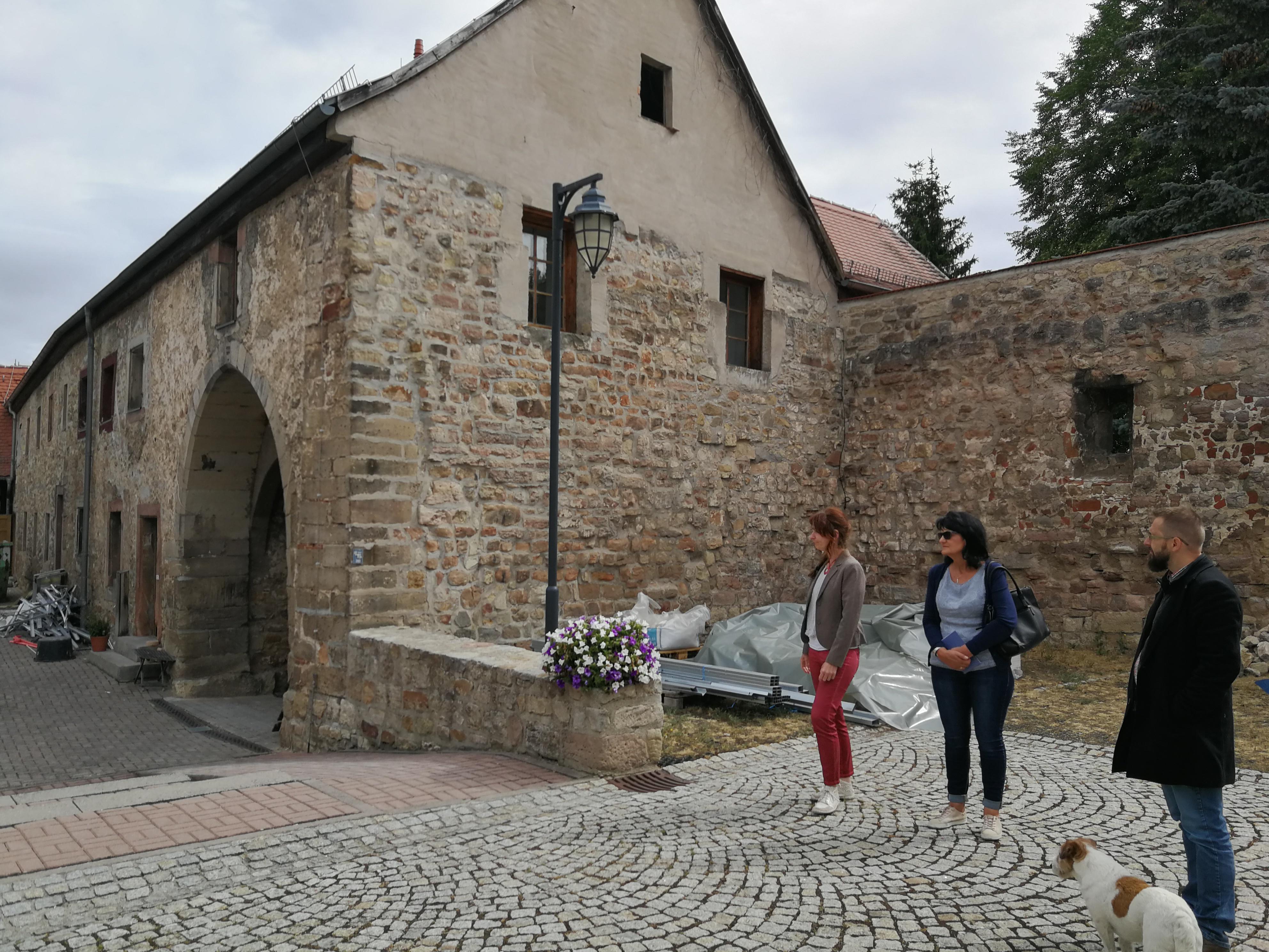 Rundfahrt Fachbeirat: Burg Tannroda, RAG Weimarer Land - Mittelthüringen e.V.