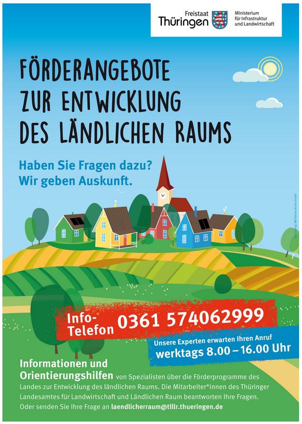Hotline zu Förderprogrammen für den ländlichen Raum