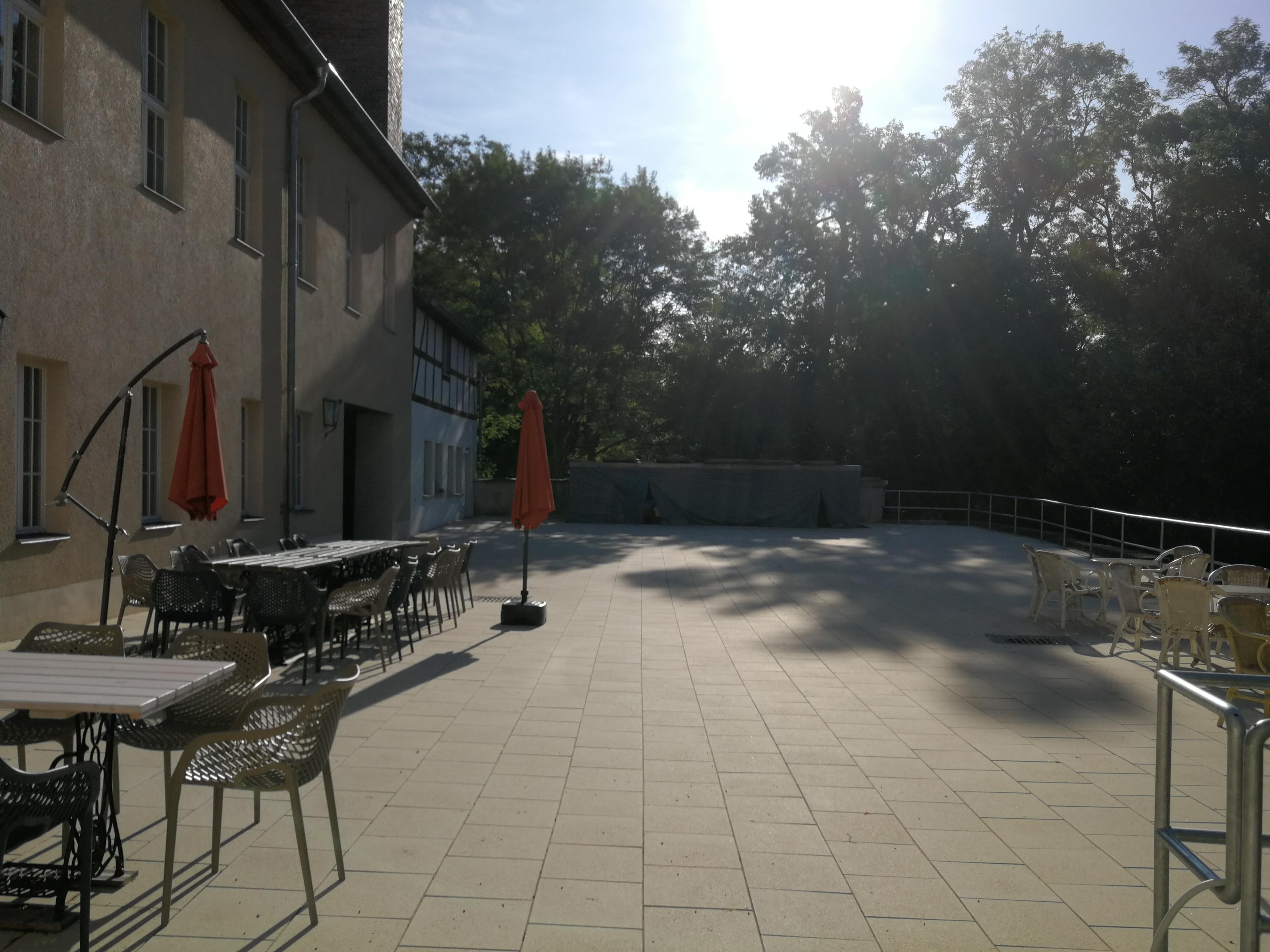 Sanierung Terrasse, RAG Weimarer Land - Mittelthüringen e.V.