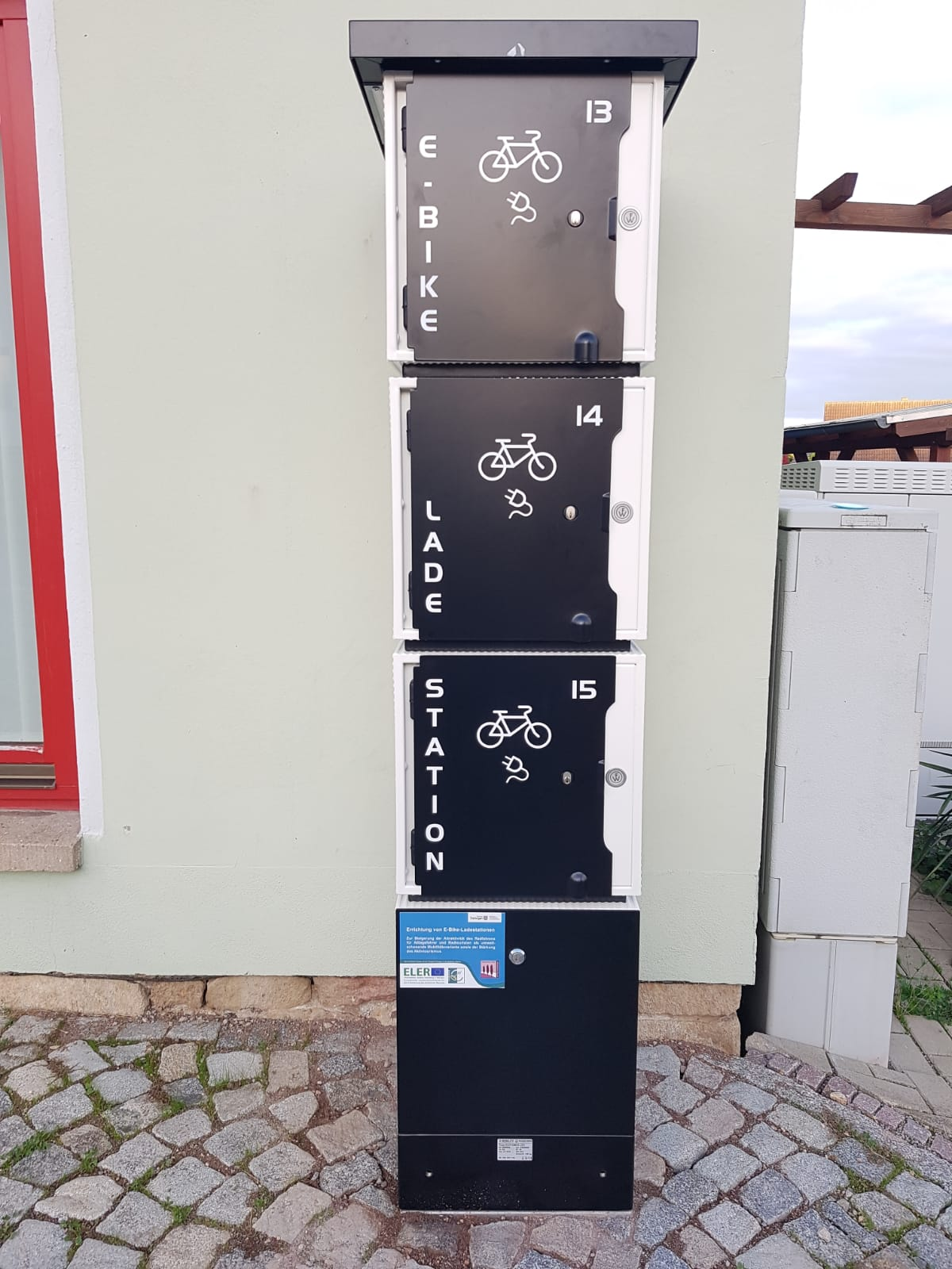 E-Bike-Ladestation (Standort: Bergern, am Gemeindehaus), Stadt Bad Berka