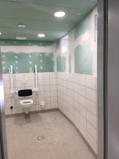 Besucher-WC, Diakonie Landgut Holzdorf gGmbH