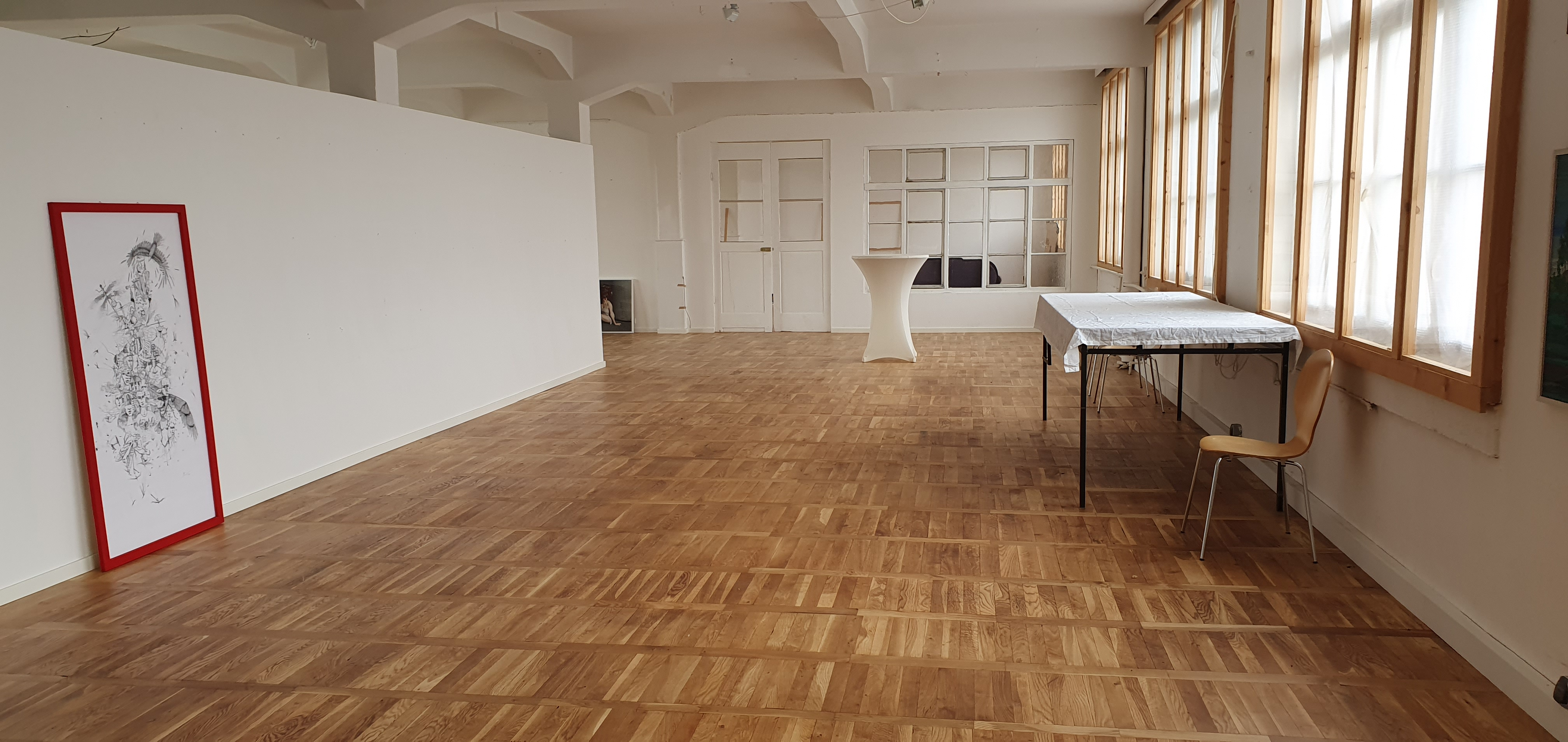 Kulturfabrik Apolda: Sanierung Fußboden im 2.OG (RAG Weimarer Land - Mittelthüringen e.V.)