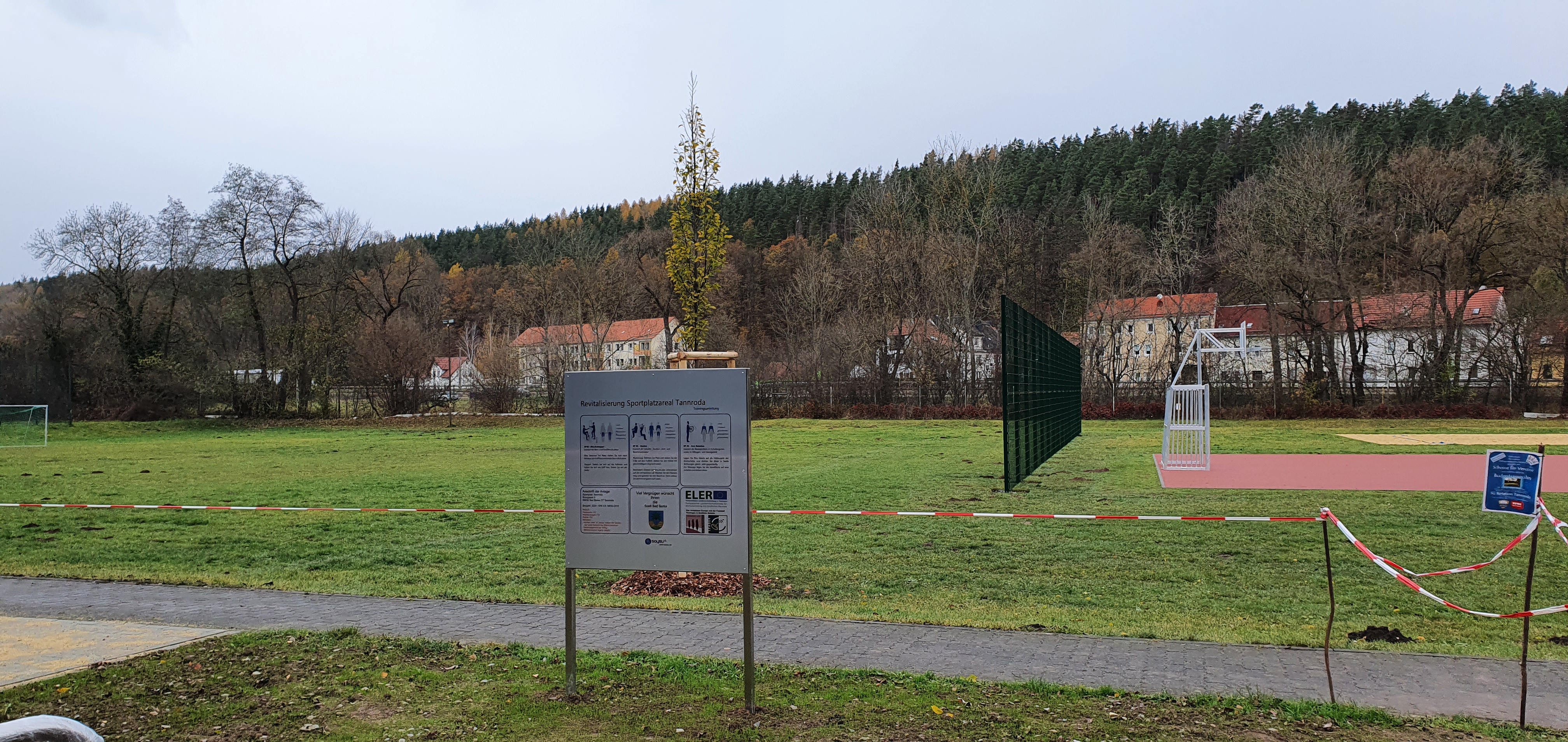 Revitalisierung ehemaliges Sportplatzareal Tannroda, RAG Weimarer Land - Mittelthüringen e.V.