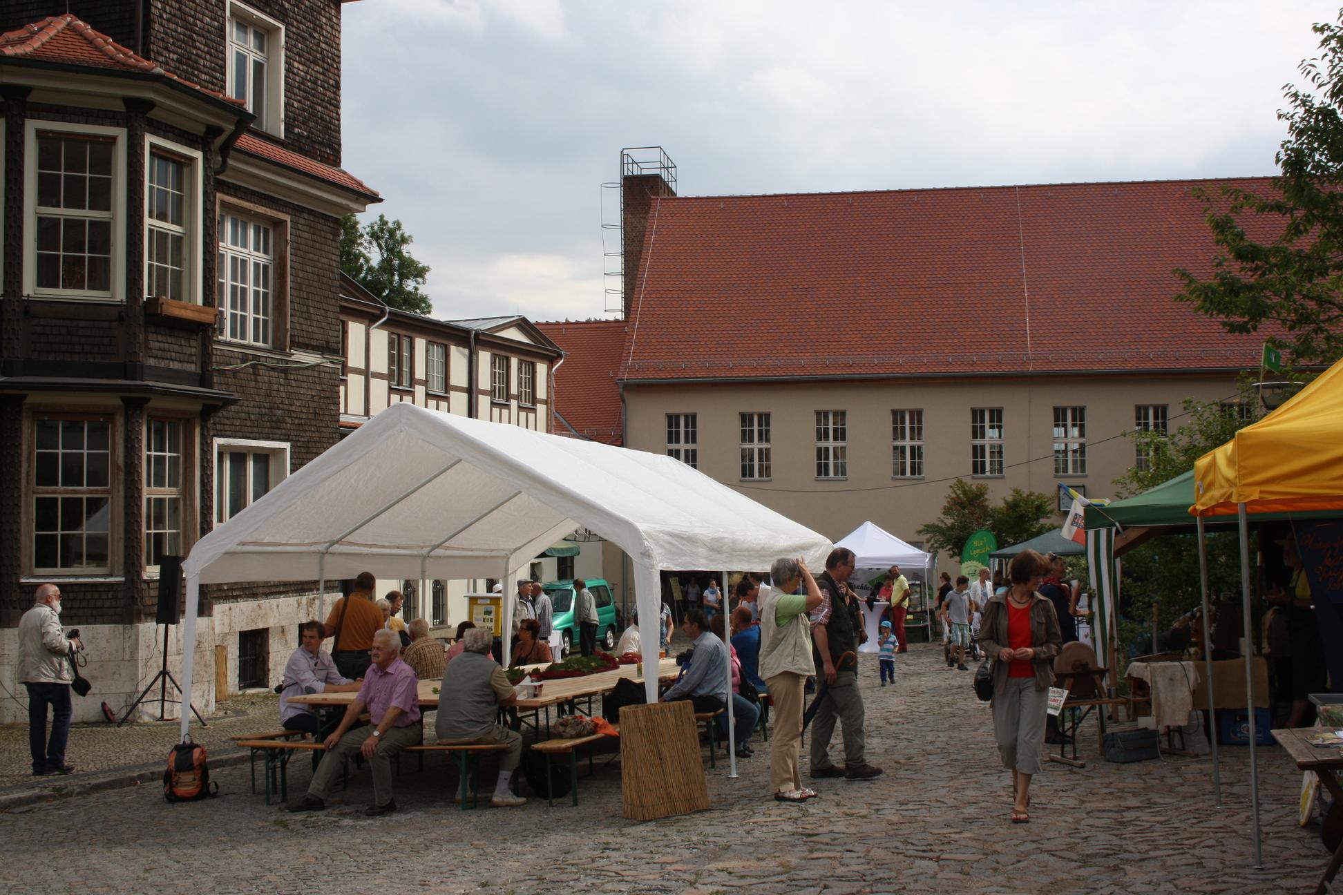 Regionale Genussmesse im Landgut Holzdorf